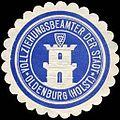 Siegelmarke Vollziehungsbeamter der Stadt - Oldenburg (Holstein) W0234996.jpg