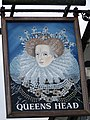 Sign for the Queen's Head, Ludgershall - geograph.org.uk - 952703.jpg