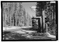 Sign for west entrance, Highway 62, into park. - Crater Lake National Park Roads, Klamath Falls, Klamath County, OR HAER OR-107-1.tif