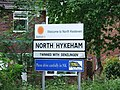 Sign on Newark Road, North Hykeham, Lincolnshire, England - DSCF1452.JPG