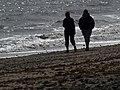 Silhouette Beach Walkers - geograph.org.uk - 1271097.jpg