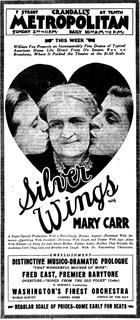 <i>Silver Wings</i> (film) 1922 film by John Ford, Edwin Carewe