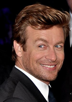 The Mentalist - Lead actor Simon Baker in 2013