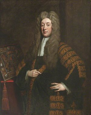 Simon Harcourt, 1st Viscount Harcourt - The Viscount Harcourt, Lord Chancellor