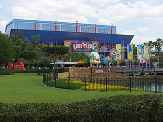 The Simpsons (franchise) - The Simpsons Ride at Universal Studios Florida which officially opened May 15, 2008