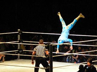 Sin Cara Trampolining Into The Ring.jpg