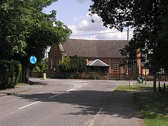 Sindlesham - Image: Sindlesham Baptist Church