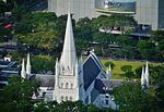Singapore Cathedral St. Andrew viewed from UOB Plaza.jpg
