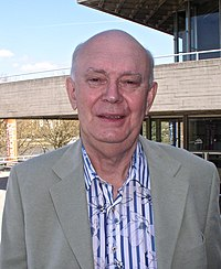 Sir Alan Ayckbourn, april 2010.