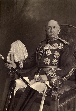 Aldershot Garrison - Field-Marshal Sir Evelyn Wood was appointed commander of Aldershot Division in 1889. He played a significant part in the reconstruction of the original camp