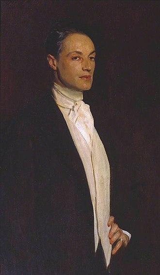 Philip Sassoon - Sir Philip Sassoon, John Singer Sargent, 1923