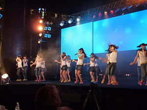 SKE48 - SKE48 Team KII performing at the World Cosplay Summit 2010