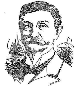 Chester David Hartranft - A sketch of Hartranft