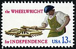 Skilled Hands For Independence Wheelwright 13c 1977 issue U.S. stamp.jpg