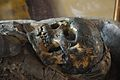Skull - Egyptian Human Mummy - Egyptian Gallery - Indian Museum - Kolkata 2014-04-04 4352.JPG