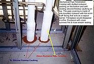 Sl silicone pipe covering