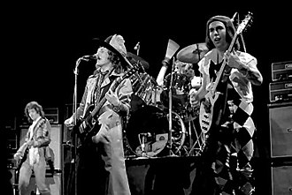 Slade - Slade performing in Norway in 1977.