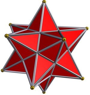 Face (geometry) - Image: Small stellated dodecahedron