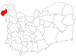 Location of Smârdan