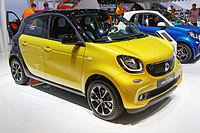 Smart Forfour - Mondial de l'Automobile de Paris 2014 - 001.jpg