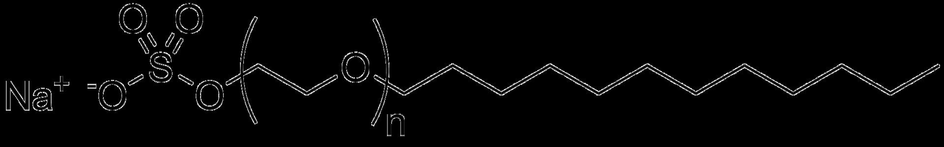 Sodium laureth sulfate structure.png
