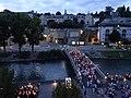 Soir de pèlerinage à Lourdes 02.jpg