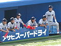 Sokeisen spring 2008 - Keio University players.JPG