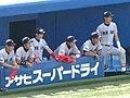 Sokeisen spring 2008 - Keio University players.JPG