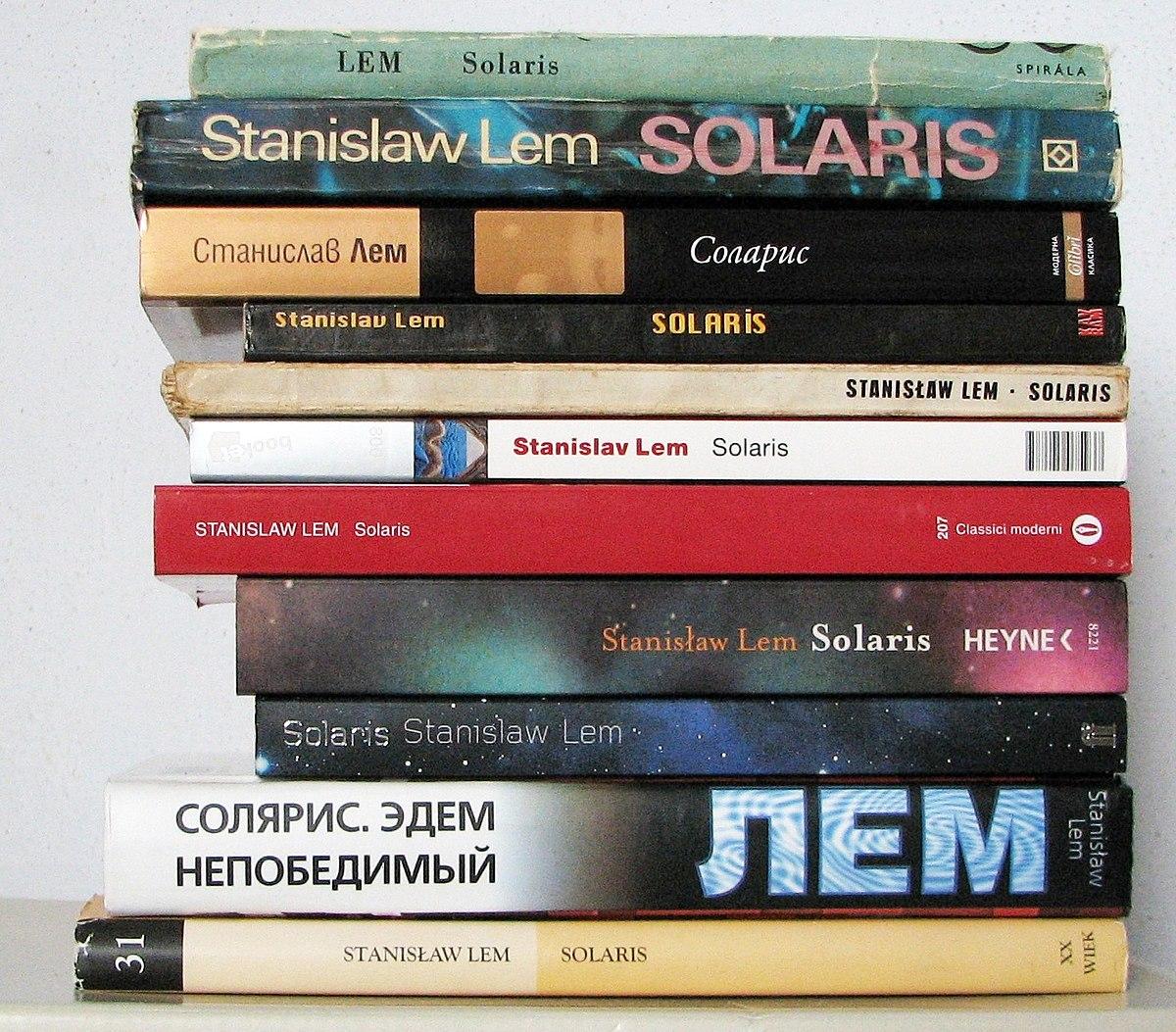 Солярис книга Краткое Содержание
