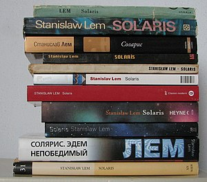 Solaris (novel) - Various translations of Solaris, including the English one