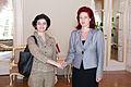 Solvita Āboltiņa tiekas ar Spānijas Karalistes vēstnieci (5709260873).jpg