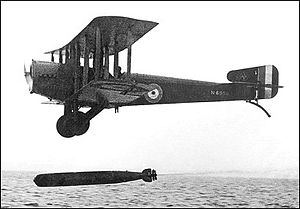 William Dickson (RAF officer) - Sopwith Cuckoo, a type flown by Dickson in the 1920s
