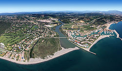 Sotogrande aerial view, July 2011