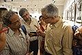 Soumya Mukhopadhyay Explains His Creations - Group Exhibition - PAD - Kolkata 2016-07-29 5479.JPG