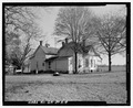 South side and west rear - Emory Webb Farm, House, State Highway 3-U.S. Highway 19, Sumter, Sumter County, GA HABS GA-39-A-4.tif