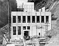 South side of powerhouse, nearly complete, September 21, 1925 (SPWS 330).jpg