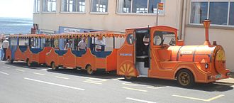 Southern Vectis - An Isle of Wight Council Dotto road train