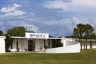 SpaceX launch facilities - SpaceX Cape Canaveral Launch Control Center in 2010
