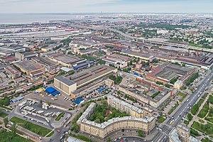 Kirov Plant - Aerial view of the Kirov Plant