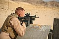 Special Reaction Team member fires M-4 service rifle during training exercise at Twentynine Palms, California.jpg