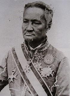 Somdet Chaophraya Sri Suriwongse Regent of Thailand