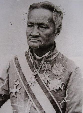 Regent of Thailand - Sri Suriwongse