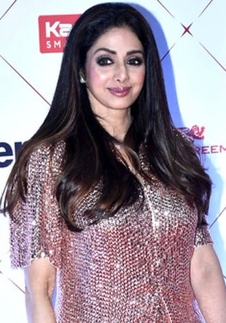 Sridevi - Sridevi at the HT Style Awards in January 2018, one month before her death