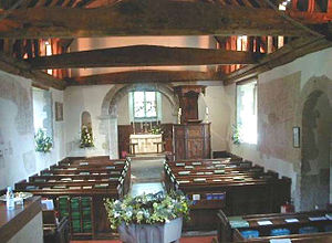 Pyrford - Nave of St. Nicholas Church