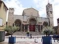 St.Gilles-du-Gard (Gard, Fr) abbatiale, façade ouest.JPG