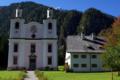 St. Martin b. Lofer, Kirchental, Mesnerhaus u. Wallfahrtskirche1.png