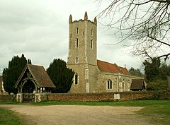 St. Mary's church, Langham, Essex - geograph.org.uk - 156281.jpg