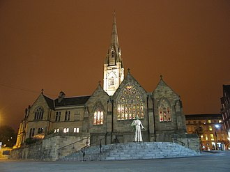 St Mary's Cathedral, Newcastle upon Tyne - Image: St. Marys, Newcastle