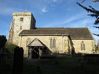 St Peter's Church, Ardingly - Image: St. Peter's, Ardingly