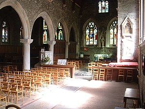 St German's Priory - Interior view